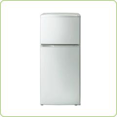 2ドア冷蔵庫100L