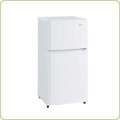 2ドア冷蔵庫80L